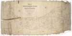 Map of Prince Edward Island, in the Gulf of St. Lawrence,