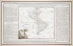 L' Amerique Dressee pour l'etude de la Geographie,: revue et augmentee par Mr. Brion, Ingenieur Geographe du Roy a Paris, chez D