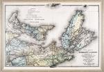 New Atlas of the Dominion of Canada — Counties of Cumberland, Colchester, Pictou, Antigonish, Guysborough, Nova Scotia; Invernes