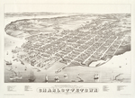 Panoramic view of Charlottetown, Prince Edward Island, 1878