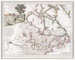 Carta Geographica Del Canada Nell' America Settentrionale
