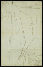 Draugth of the new road opened by order of his Excellency Governor Smith, for the west settlement of Covehead and Black river in the year 1824.