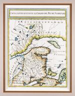 Carta Rappresentante il Golfo del Fiume S. Lorenzo